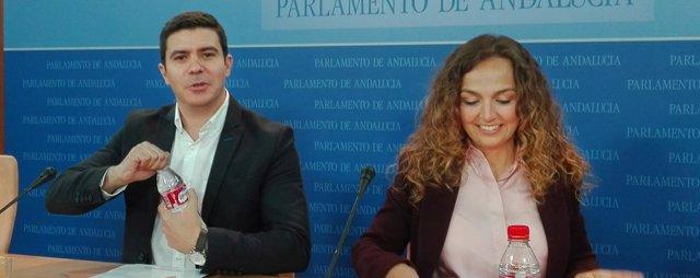 Sergio Romero y Marta Escrivá