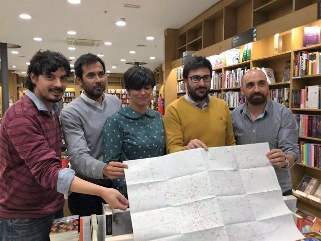 Contexto de Editores con su mapa de librerías