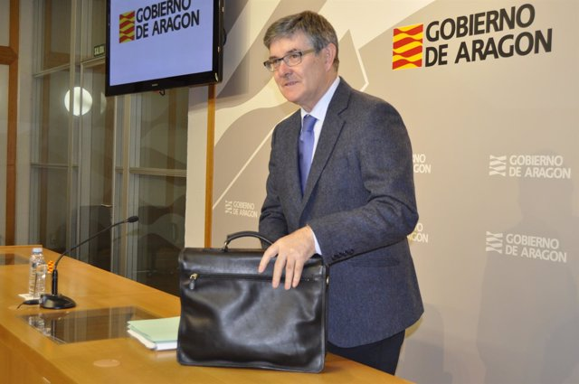 Vicente Guillén, consejero de Presidencia del Gobierno de Aragón.