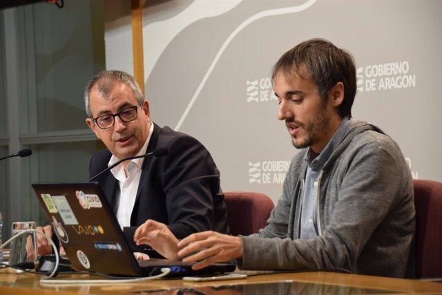 García Mongay y Subero, accediendo a la 'AragoPedia 2.0'.