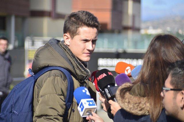 Ander Herrera se concentra con la selección española