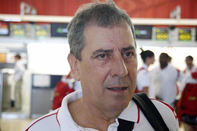 Ramón Cid  director técnico de la RFEA