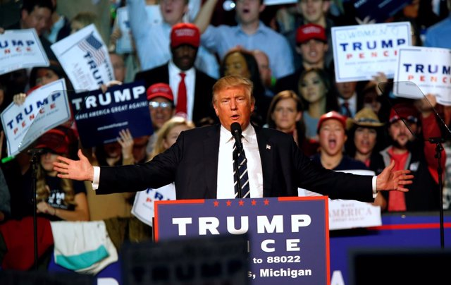 Donald Trump, candidato republicano a la Presidencia de EEUU