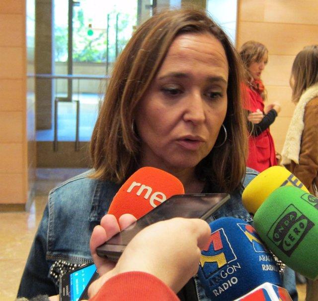 Mayte Pérez, consejera de Educación de Aragón