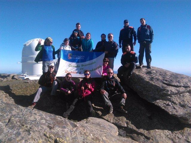 El programa 'Cumbres de Almería' corona el Calar Alto.
