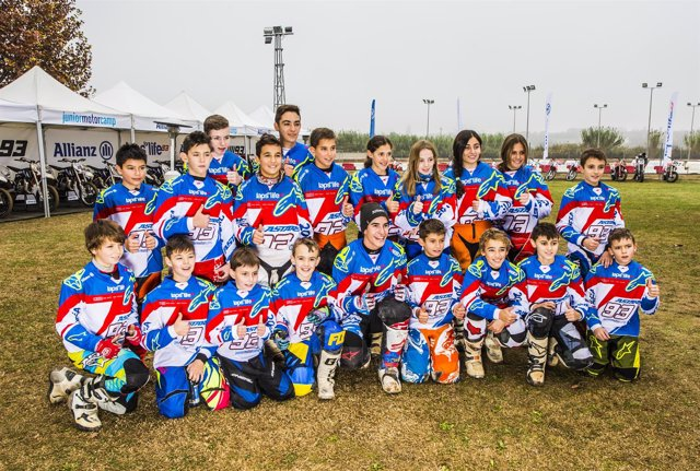 Marc Márquez apadrina la II Allianz Junior Motor Camp