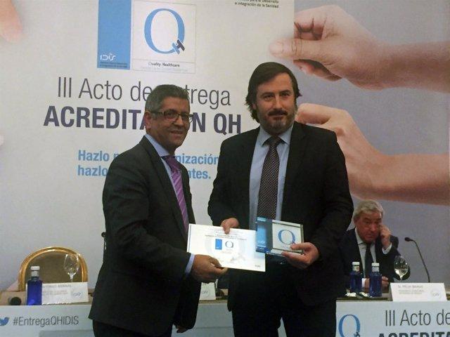 Luis Mesa del Castillo, director general del hospital Mesa del Castillo