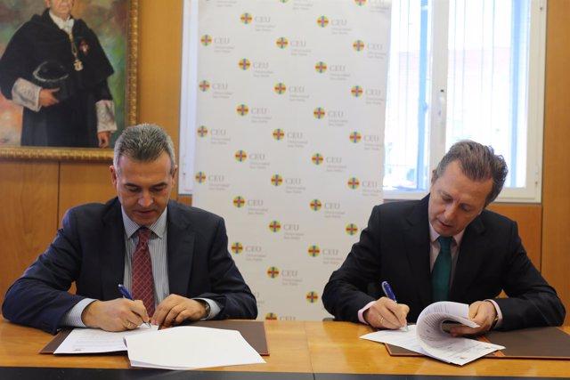 Acuerdo Universidad CEU San Pablo y Fundación Madrid Vivo