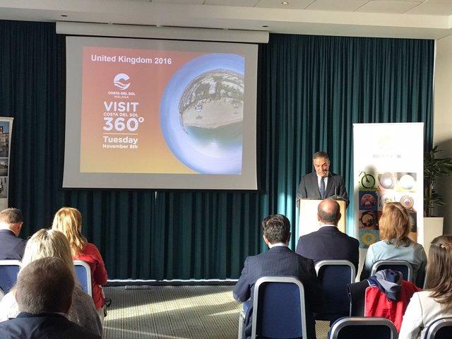 Bendodo estrategia 360º en WTM Londres a profesionanles británicos turismo