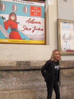 Antonia San Juan en el Talia con Lo mejor de Antonia San Juan