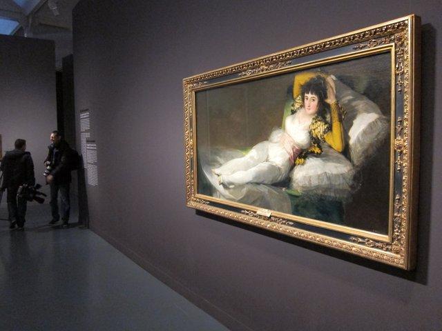 La 'Maja Vestida' De Goya En El Caixaforum De Barcelona