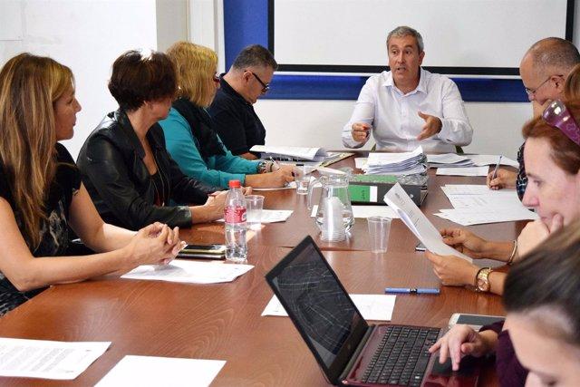 Reunión del consejo asesor del IMAS