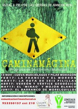 Cartel de 'CaminaMágina'