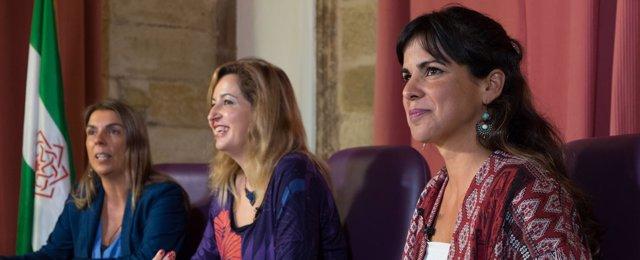 Gutiérrez, Lizárraga y Rodríguez, aspirantes a liderar Podemos Andalucía
