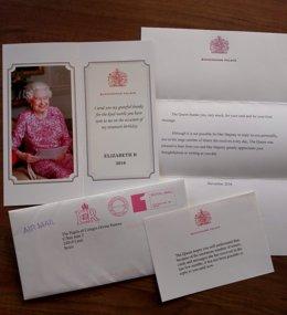 La Reina De Inglaterra Manda Una Carta Al Colegio Divina Pastora
