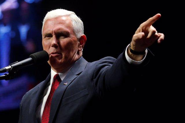 Mike Pence, candidato a la Vicepresidencia por el Partido Republicano