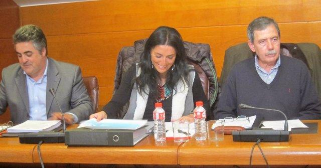 Responsables del informe del ICAF sobre Ecomasa
