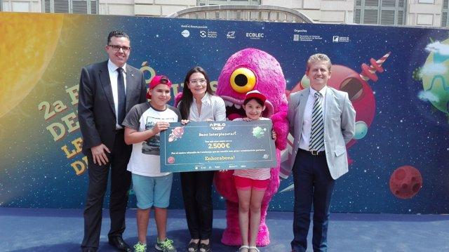 Entrega de premios Apilo XII a dos escuelas de Lleida