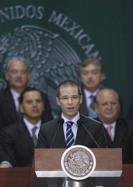 Ricardo Anaya, presidente del Partido Acción Nacional (PAN) de México