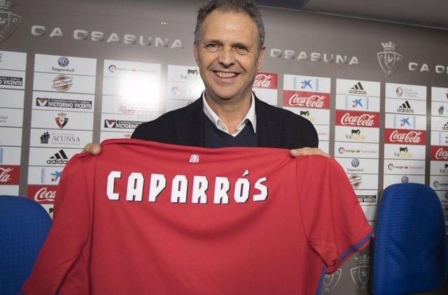 Joaquín Caparrós, nuevo técnico de Osasuna