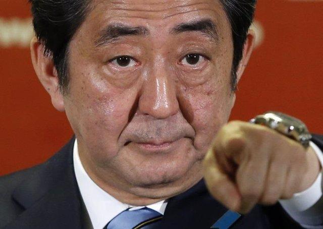 El primer ministro de Japón, Shinzo Abe,