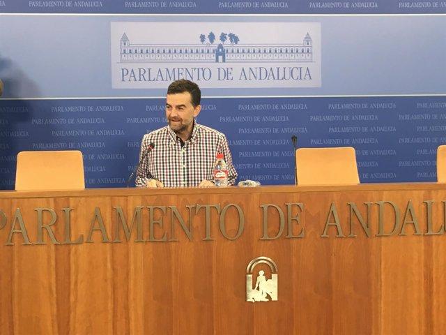 El coordinador general de IULV-CA, Antonio Maíllo