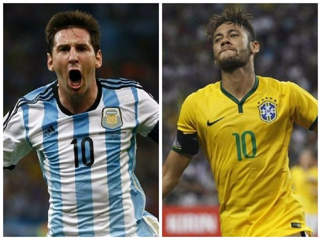 Messi y Neymar