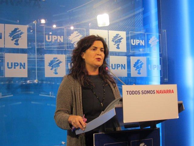 La parlamentaria de UPN, Maribel García Malo