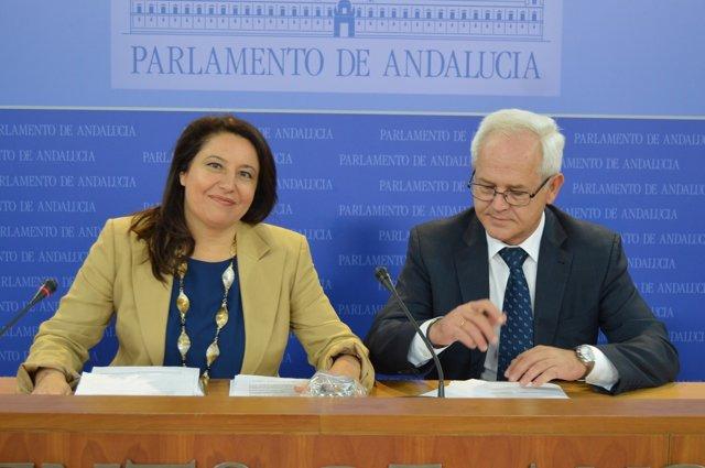 Carmen Crespo y José Antonio Miranda