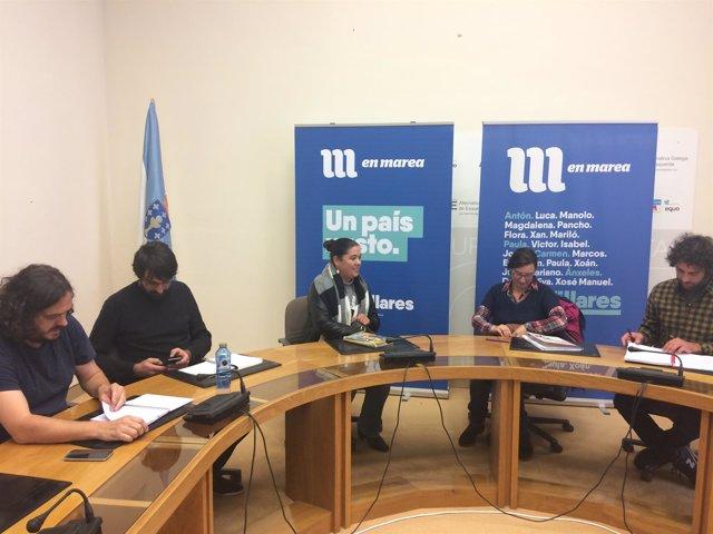 Reunión del Sindicato Labrego Galego con En Marea