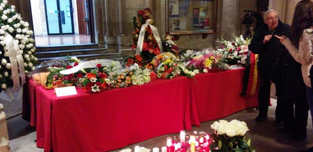 Espacio habilitado en la UB en recuerdo de las víctimas de Freginals