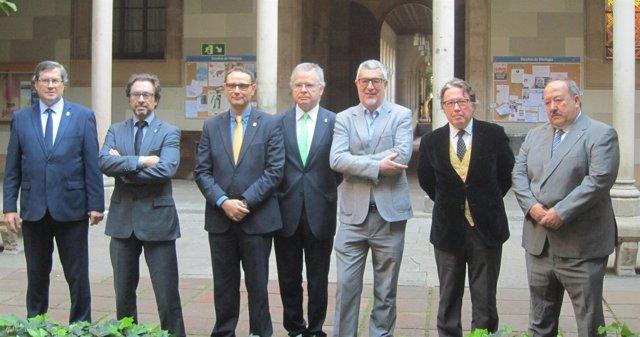 Los siete candidatos a rector de la UB