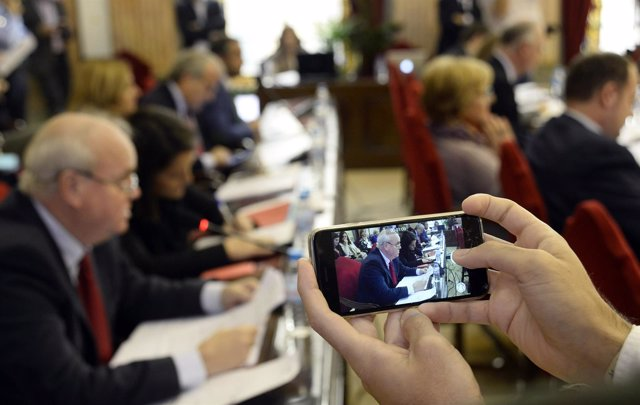 Pleno del Ayuntamiento de Murcia