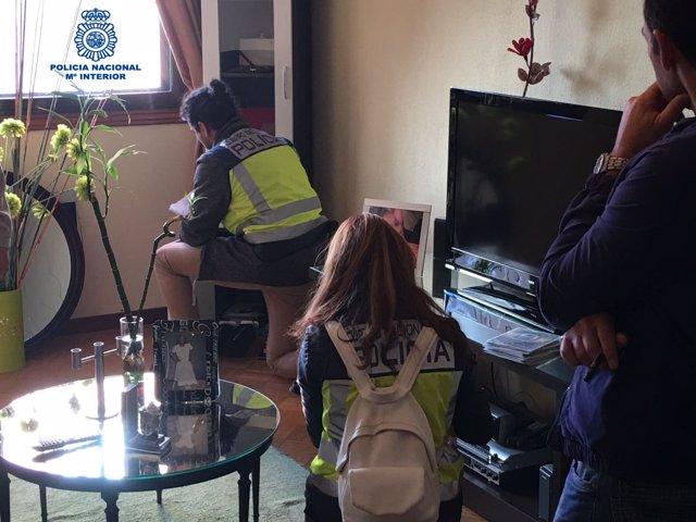 Detenidos en Vigo de una red de tráfico ilegal de personas.