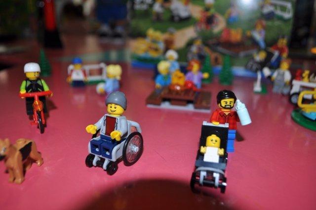 Uno de los juguetes de la Guía donde se reconoce la discapacidad