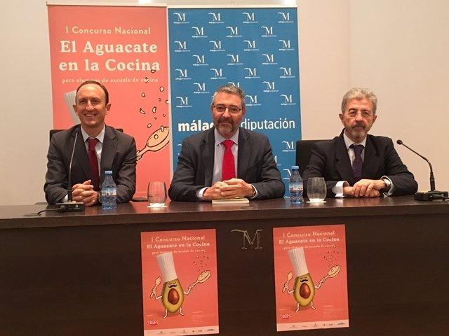Aguacate en la cocina presentación concurso nacional Trops  Colilles diputación