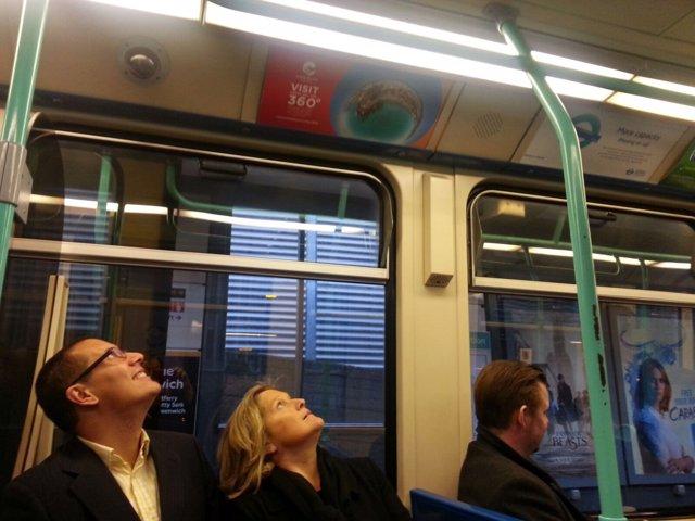 WTm londres tren proyecto 360º turismo turistas metro