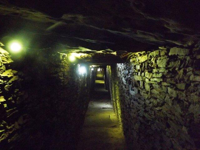 Galería del dolmen de La Pastora.