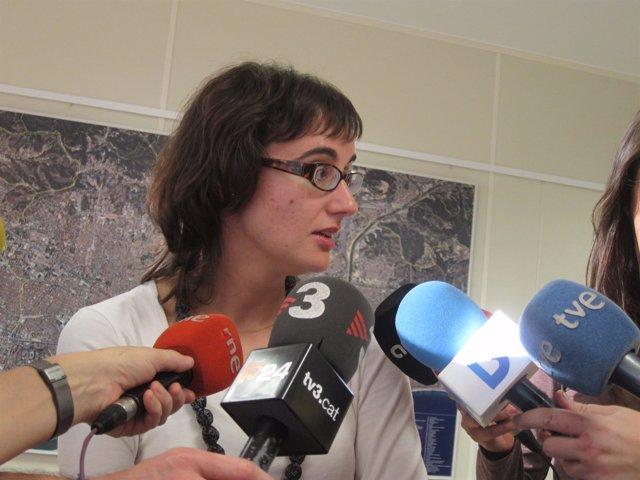 La concejal de Movilidad de Barcelona, Mercedes Vidal