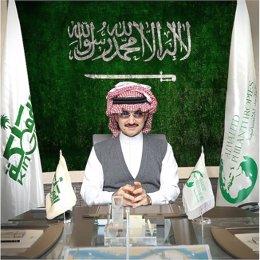 Imagen del perfil de Twitter del príncipe saudí Alwaleed bin Talal