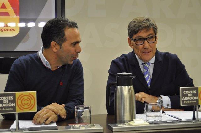 Jesús Guerrero y Arturo Aliaga.