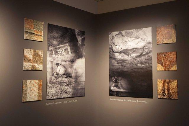 Exposición 'El largo viaje'  en la Cueva Pintada