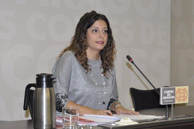 La diputada del Grupo Parlamentario de C's, Desirée Pescador.