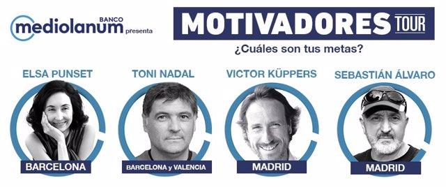 Banco Mediolanum lanza el 'Motivadores Tour'