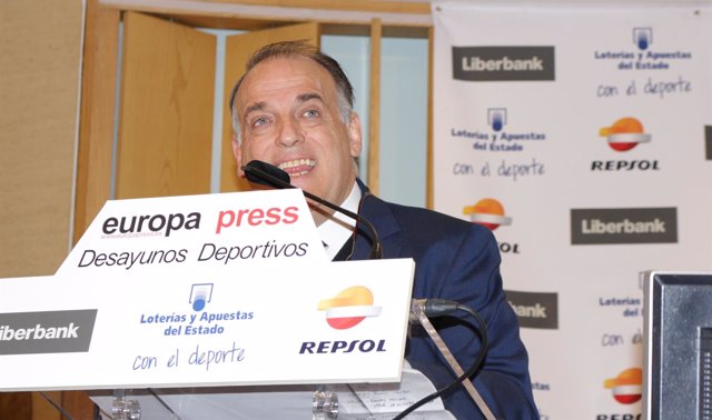 Javier Tebas Desayunos Deportivos Europa Press