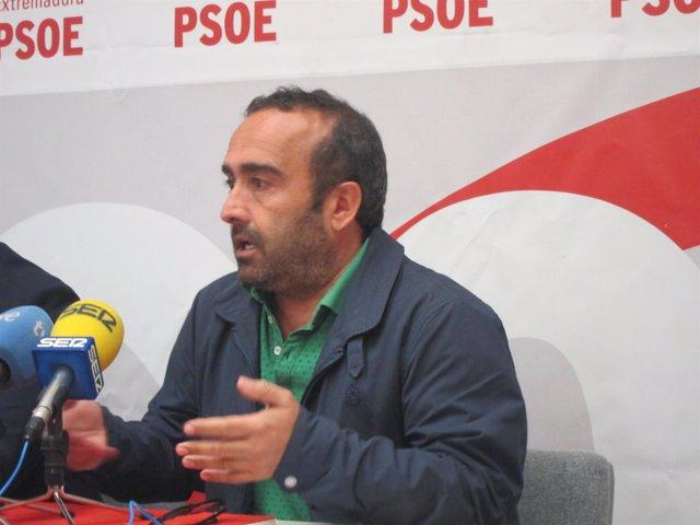 Miguel Ángel Morales, secretario provincial del PSOE de Cáceres