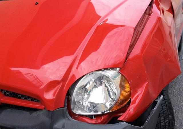 Problema en la carrocería de un vehículo
