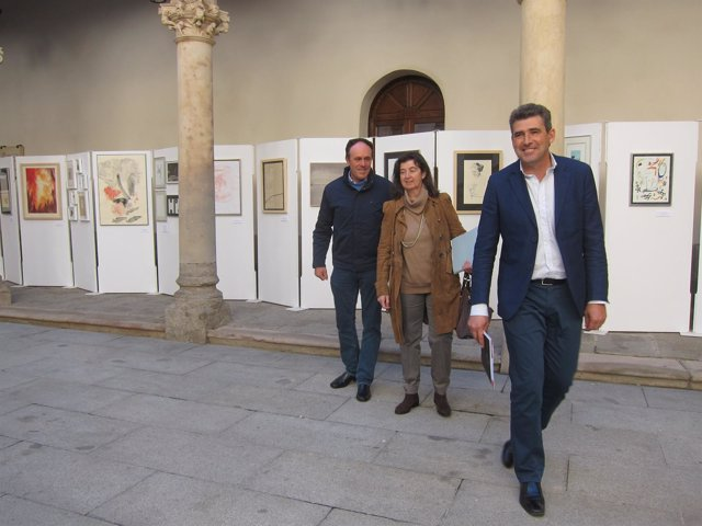 Julián Barrera, Dulce Pérez Y José Luis Vicente Sánchez.