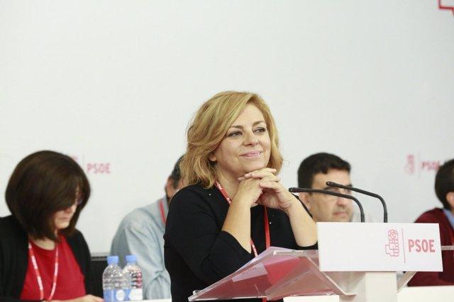 Elena Valenciano en el Comité Federal del PSOE