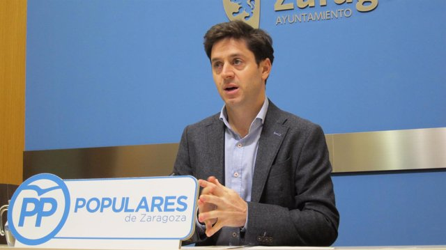 Sebastián Contín, concejal del PP en el Ayuntamiento de Zaragoza